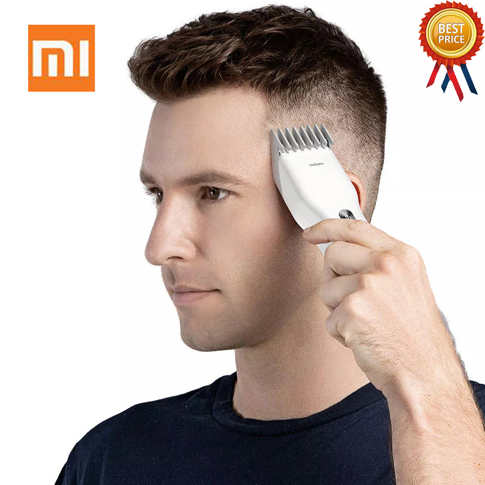 1 ENCHEN USB Fast Charging Rechargeable Men Beard Hair Clipper Professional Cordless IPX7 Waterproof Hair Cutting Machine