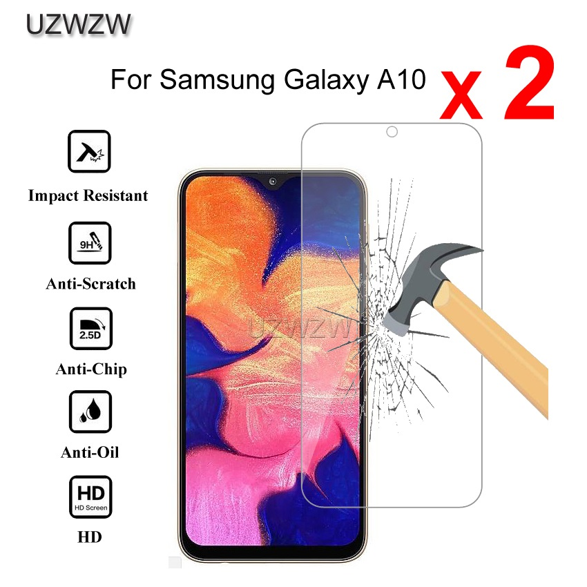 2pcs Premium Tempered Glass For Samsung Galaxy A10 A10s Protective Tempered Glass Screen Protector For Samsung A10 A10s Glass