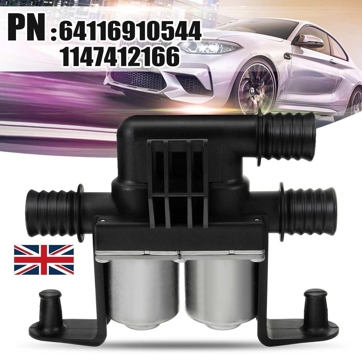 Car Heater Control Valve Solenoid Valve Cooling Water Valve for BMW E70 X5 E53 E71 X6 2003-2017 64116910544 1147412166