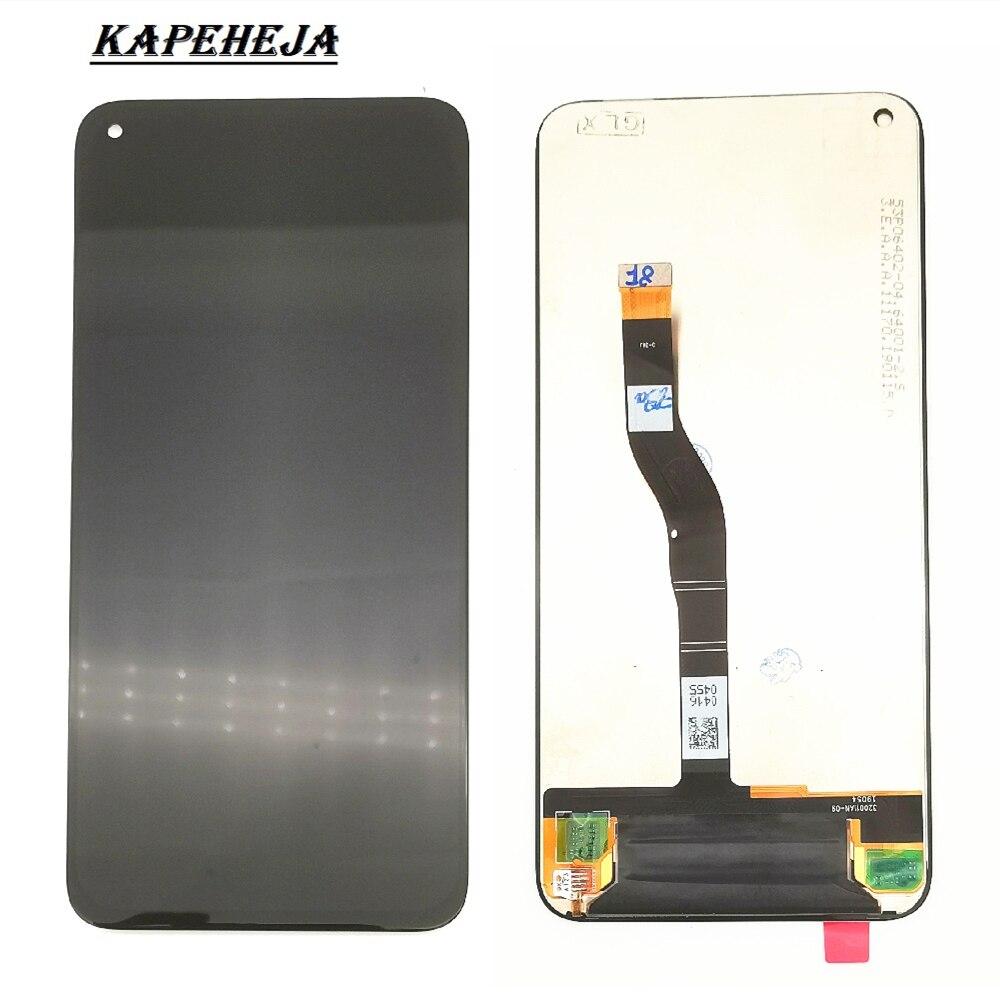 """6.4 """"LCD dla Huawei Honor V20 zobacz 20 PCT-AL10 PCT-L29 wymiana ekranu wyświetlacz Digitizer ekran dotykowy montaż"""