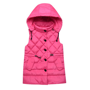 Image 5 - Vest for Kids Girl Autumn Winter Girls Casual Vest Jacket Baby Girls Boys Parkas Vest Coats Children Clothes Jacket Kids Vests