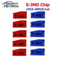 1-50 pçs/lote JMD Red Super King Chip de Chip da Chave Do Carro para a Prática Do Bebê Substituir Chip Rei Multi-Função 46/4C/4D/47/48/T5/G
