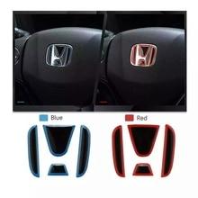 2020 Car Styling Steering Wheel Front Rear Emblem Badge Logo Sticker Decal For Honda