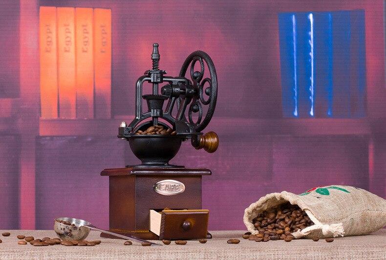 Shxing manual do vintage moedor de café
