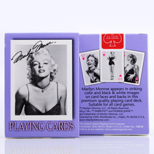 1 deck Bicycle Cards MARILYN MONROE Playing Regular Deck Rider Back Card Magic Trick Props