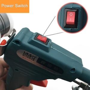 Image 4 - 110V/220V 60W Hand held Internal Heating Tin Electric Soldering Iron Kit Automatic Send Tin Gun Solder Repair Welding Tools