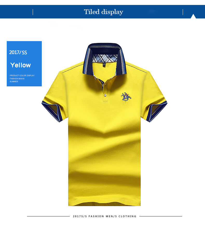 High Quality Solid color 3D Embroidery Polo Shirt Casual Polo Shirts men's Short sleeve polo shirt 2020 New Arrival polosshirt