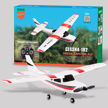WLtoys F949 2.4G 3Ch RC Airplane Fixed Wing Plane Outdoor toys Drone RTF Upgrade version Digital servo propeller, with Gyroscope 5