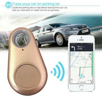 Localizador anti-Pérdida iTag Tracker alarma GPS localizador Cartera de posicionamiento inalámbrico llave Pet sin batería Smart Wireless