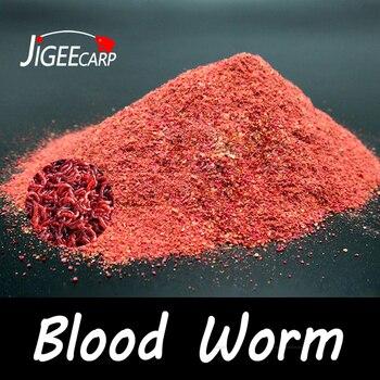 1 Bag 40g Blood Worm Flavour Additive Red Powder Bait Boilie Making Material Groundbait