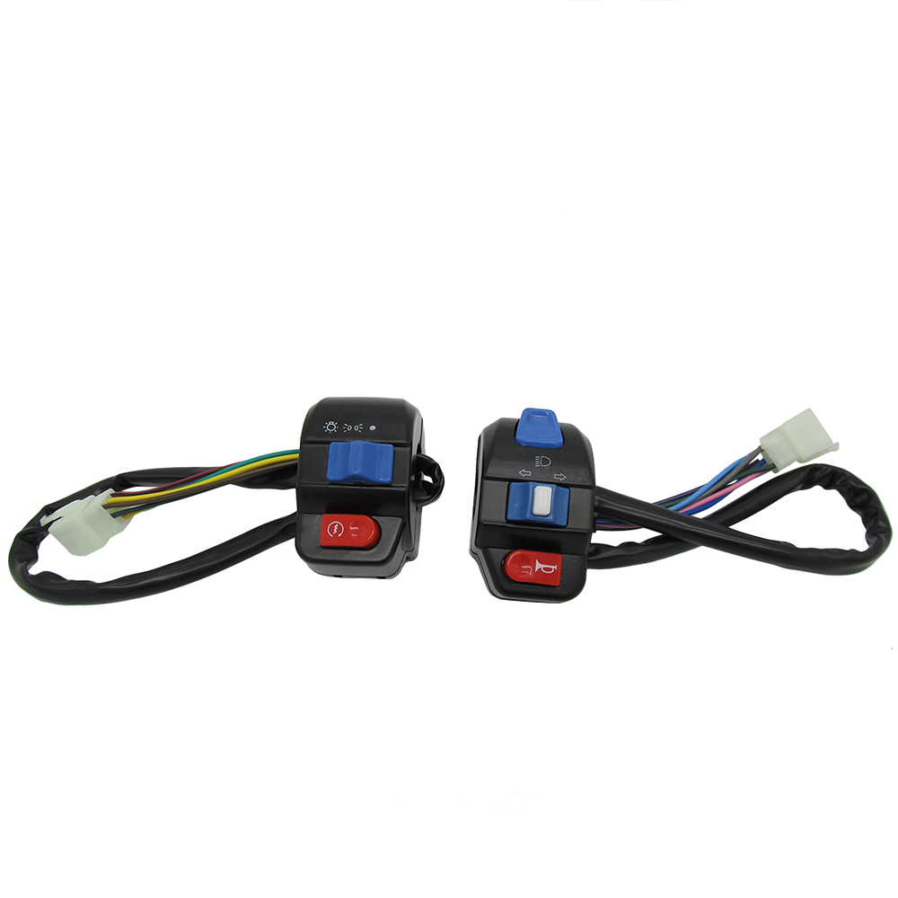150cc GY6 Scooter LEFT /& RIGHT HANDLE BAR SWITCH CONTROL Compatible For 50cc
