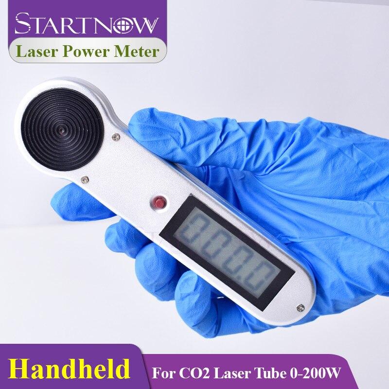 Startnow ручной лазерный измеритель мощности, динамометр 200 Вт, HLP 200 для CO2 лазерного оборудования, машина для резки и резьбы, Удобная Лампа