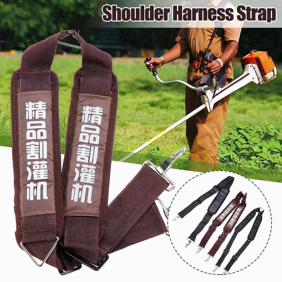 Shoulder Harness Alça cortador de Grama Aparador de grama Corda Aparador de Grama Cortador de Escova de Nylon Durável Cinto Cinto de Ferramentas de Jardim