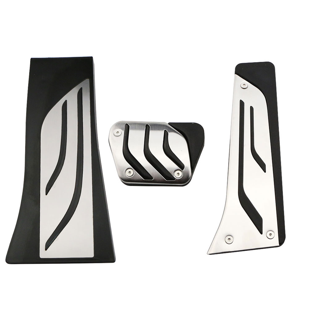 Автомобильный набор педалей для BMW X5 X6 F15 F16 E70 E71 E72 2008 - 2018 на акселераторе Газ Тормозная Подножка педаль Крышка LHD нержавеющая сталь
