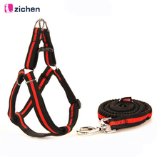 Get more info on the Zichen Dog Harness Leash Elastic Nylon Adjustabl Diving Fabric Lining Soft Durable Large Medium For Dog Harness Leash 6 Color