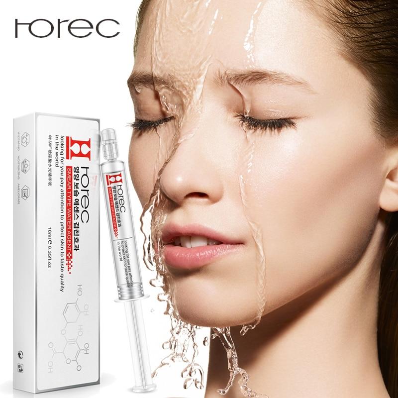 ROREC Rosto Ácido Hialurônico Soro Hidratante Anti-Rugas Anti Envelhecimento Colágeno Facail Diminuir Os Poros essência Clareamento Da Pele Cuidados