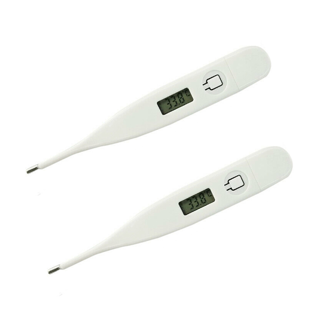 1/2/3/4PCS Home Human Adult Baby Body Electronic Thermometer Digital LCD Display Fever Heat Temperature Meter Random Color