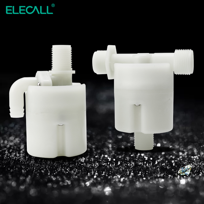 ELECALL Automatic Water Level Control Valve Tower Tank Floating Ball Valve 1/2
