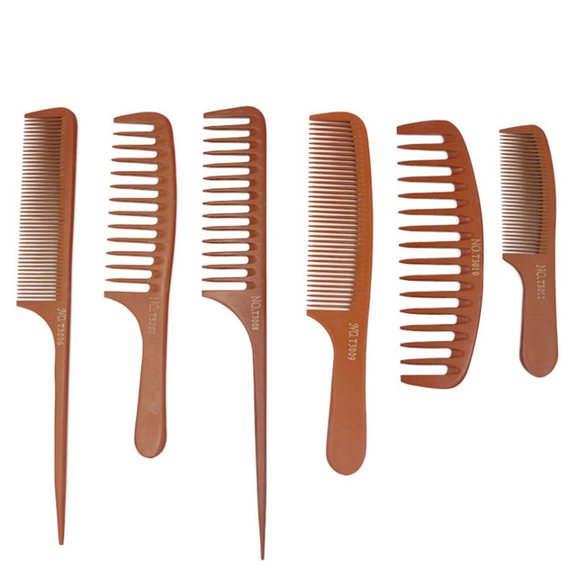11 Style Anti-static Hairdressing Combs Tangled Straight Hair Brushes Girls Ponytail Comb Pro Salon Hair Care Styling Tool