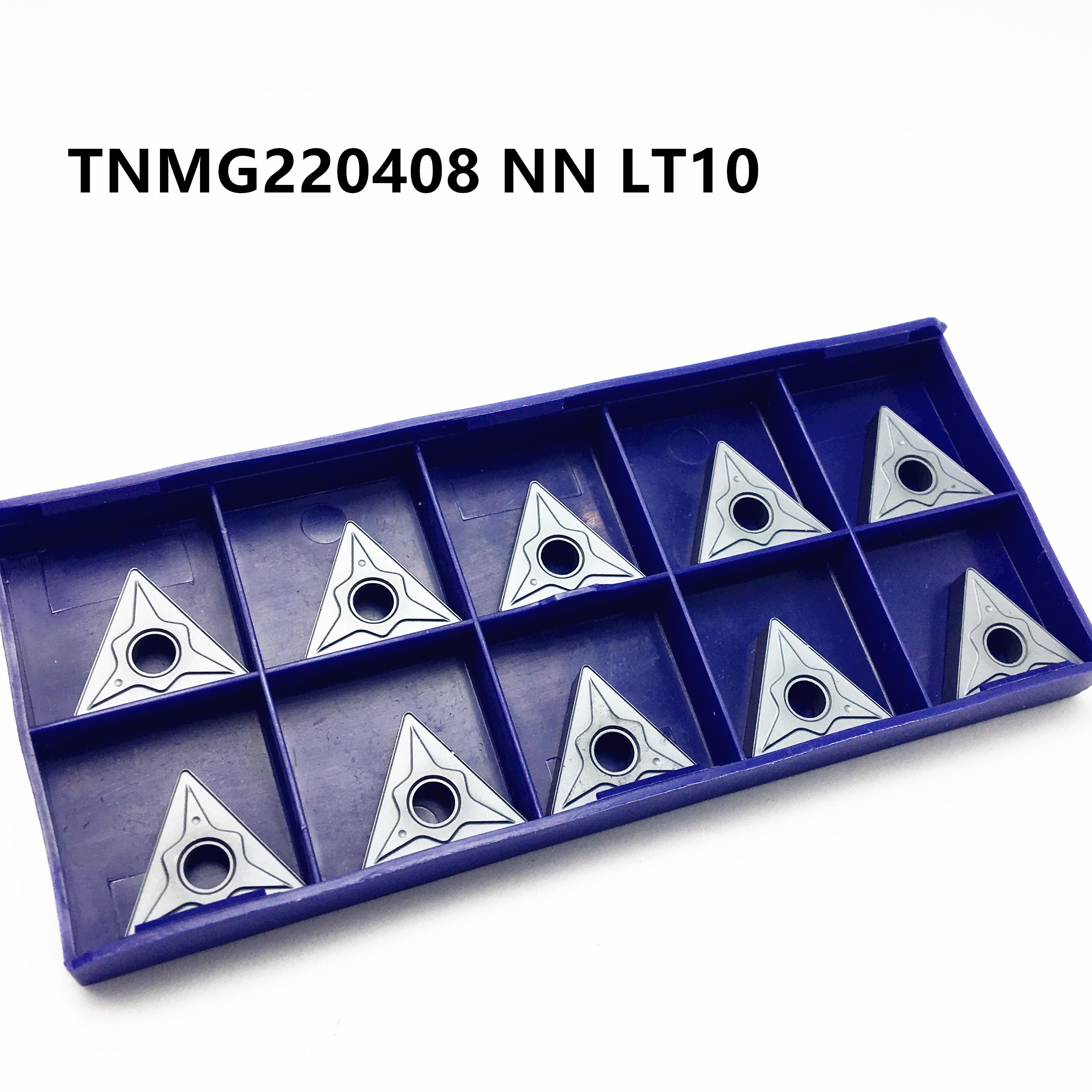 New Carbide Inserir TNMG220408 NN LT10 Alta Qualidade Inserção CNC Peças Da Máquina de Torno Moagem Ferramenta Ferramentas de Torneamento Cilíndrico