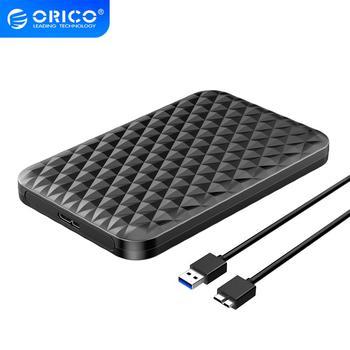 ORICO 2.5 pouces boîtier de disque dur SATA 3.0 à USB 3.0 5 Gbps 4 to boîtier de disque dur SSD Support UASP HD boîtier de disque dur externe noir/blanc