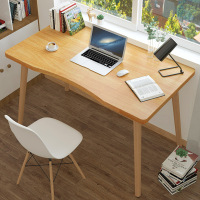 Modern Style Computer Laptop Desk Solid Wood Office Desk Desktop Computer Standing Desks Table Home Living Room Office Furniture