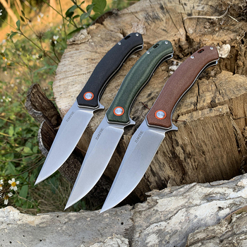 TUNAFIRE Folding Knife  D2 Tactical Outdoor  Stainless Steel Survival Hunting  Fishing Climbing Pocket Knife Fruit Cutter Tools 2
