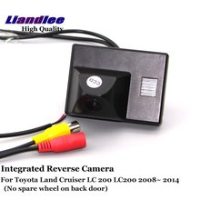 цена на Special Integrated Rear Camera For Toyota Land Cruiser LC 200 LC200 2008-2014 Car GPS Navigation Camera HD SONY CCD CHIP Alarm