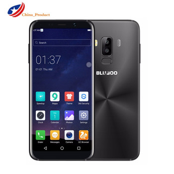 In Stock Bluboo S8 5.7'' Full Display 4G Smartphone 3GB RAM 32GB ROM MTK6750 Octa Core Android 7.0 Dual Rear Camera Mobile Phone