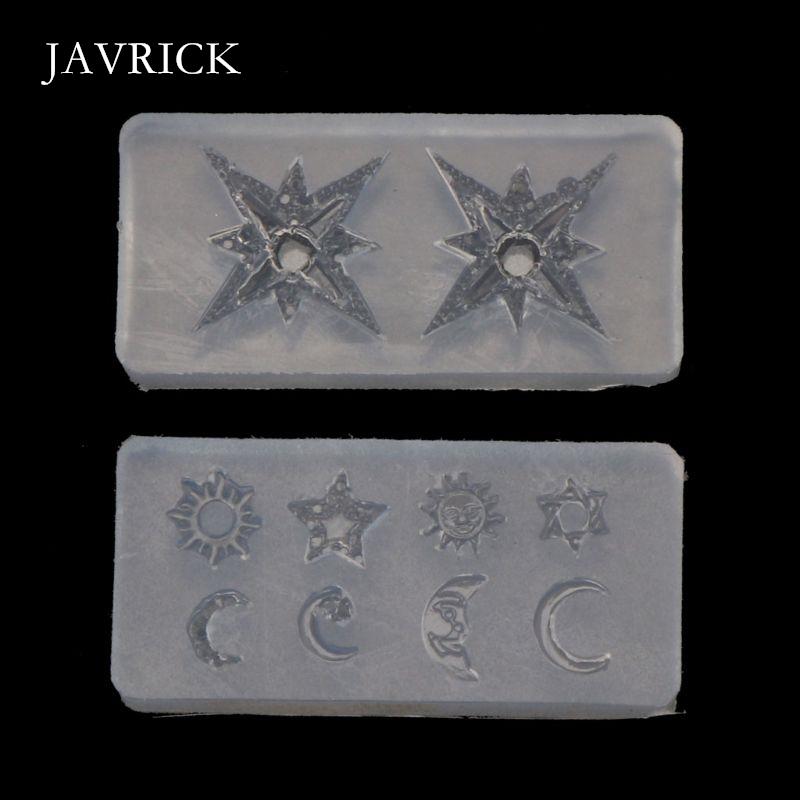 Mini Size Moon Star Sun Resin Jewelry Fillings Resin Silicone Mold Craft Tool DIY Pendant Accessories Jewelry Making Tool(China)