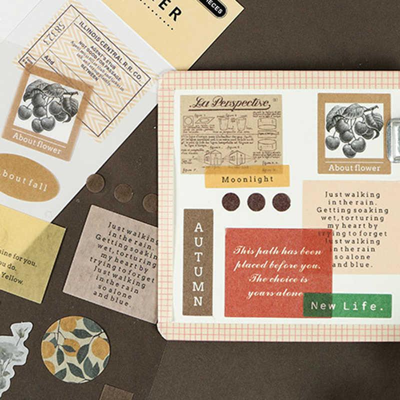 2 feuilles bonjour série autocollant Scrapbooking créatif bricolage balle Journal décoratif adhésif papier joint étiquette papeterie fournitures
