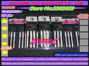 Image 1 - Aoweziic 2018 + 100% Новые импортные оригинальные трубки IRLB3034 IRLB3034PBF LB3034 TO 220, трубки MOS, Выпрямители