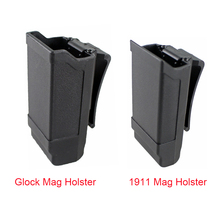 CQC Magazine Holster Tactical Gun Mag Holder for Glock 17 19 or 1911 Caliber Hunting Accessories Pouch