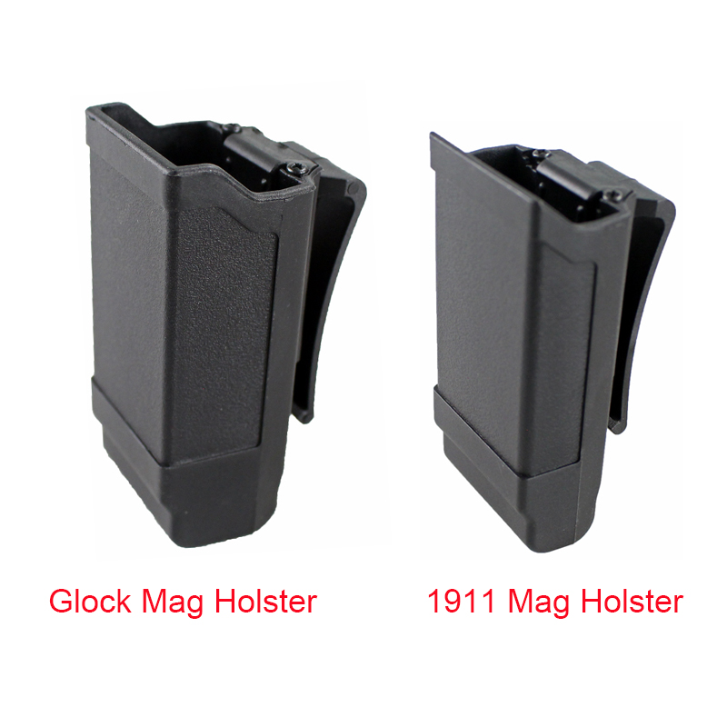 CQC Magazine Holster Tactical Gun Mag Holder for Glock 17 19 or 1911 Caliber Magazine Hunting Accessories Mag Pouch image