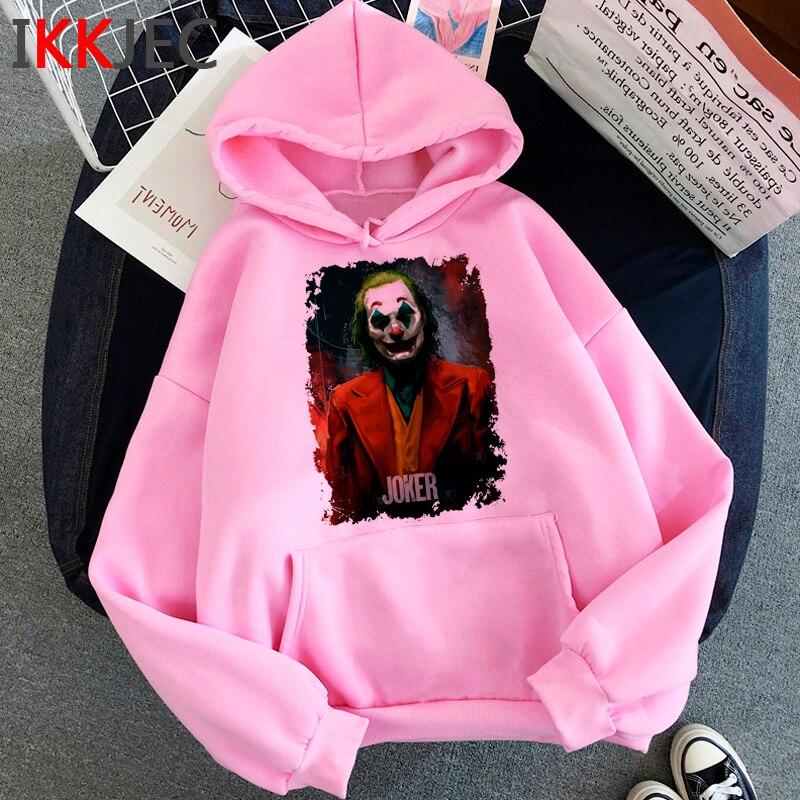 New Joker Joaquin Phoenix Funny Cartoon Hoodies Men/women Winter Warm Horror Movie Fashion Sweatshirts Hip Hop Hoody Male/female