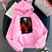 New Joker Joaquin Phoenix Funny Cartoon Hoodies Men/women Winter Warm Horror Mov