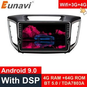 Eunavi 9 inch 2din Android 9.0 car radio