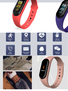 Watch Monitor Couple Health-Tracker Heart-Rate Smart-Color Waterproof Portable Men's