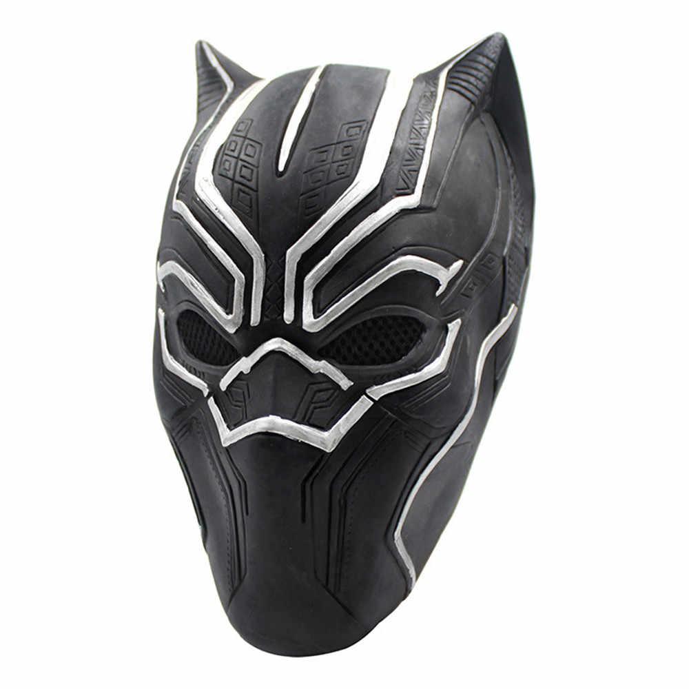 Film czarna pantera kask snajper maska halloween zabawka urodziny 2020 nowy rok dekoracji potwór parodia stroik