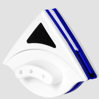 Novo útil limpador de janela magnética limpador de vidro duplo lado útil superfície escova de limpeza de vidro soprando escova de esfregar de vidro magnético quente|Limpadores de janelas magnéticas| |  -
