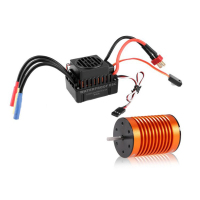New HSP RC Vehicle Parts 9T 4370KV Brushless Motor 60A Brushless ESC Combo Set