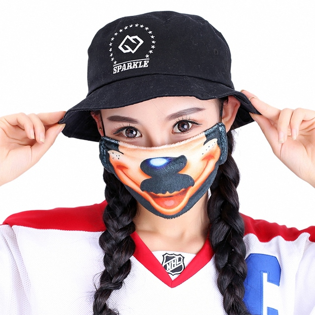 Kawaii Mouth Mask Kpop Cute Face Mouth Mask Dust Masks Fashion Anime Cotton Masks Mascarillas Protective Mask 5