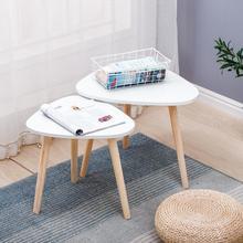 Table Living-Room Nordic-Style Modern Minimalist Tea Oval Wood Home for HWC Creative