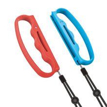 Nuovo Cinturino Da Polso Della Mano Corda Cordino per Nintend Interruttore Joy con di Fitness Gioco di Boxe Assit Strumento di Grip Maniglia
