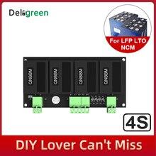 QNBBM 4S 12V Lithium Batterie Equalizer Balancer BMS für Li Ion LiFePO4 LTO LiNCM LMO 18650 DIY Pack Schutz