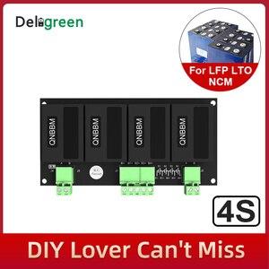 Image 2 - Qnbbm 4s 12vリチウム電池イコライザーバランサbmsリチウムイオンLiFePO4 lto lincm lmo 18650 diyパック保護