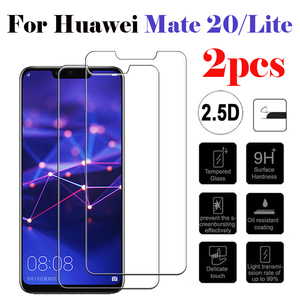 2pcs Protective Glass On For Huawei Mate 20 Huaweii Mate 20 Lite Light Mate20 20lite Screenprotector Hauwei Safety Glas Protect(China)