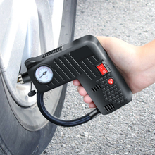 Electric Car Pumps Car Tire Inflator Wheel Tyre Air Pump Car Portable Air Compressor Tire Pump For DC 12V Motorcycle Bicycle недорого