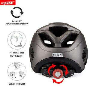 Велосипедный шлем BATFOX для женщин и мужчин, шлем для взрослых, шлем fox mtb, Интегрированный шлем casco ciclismo fiets helm capacete, велосипедный шлем