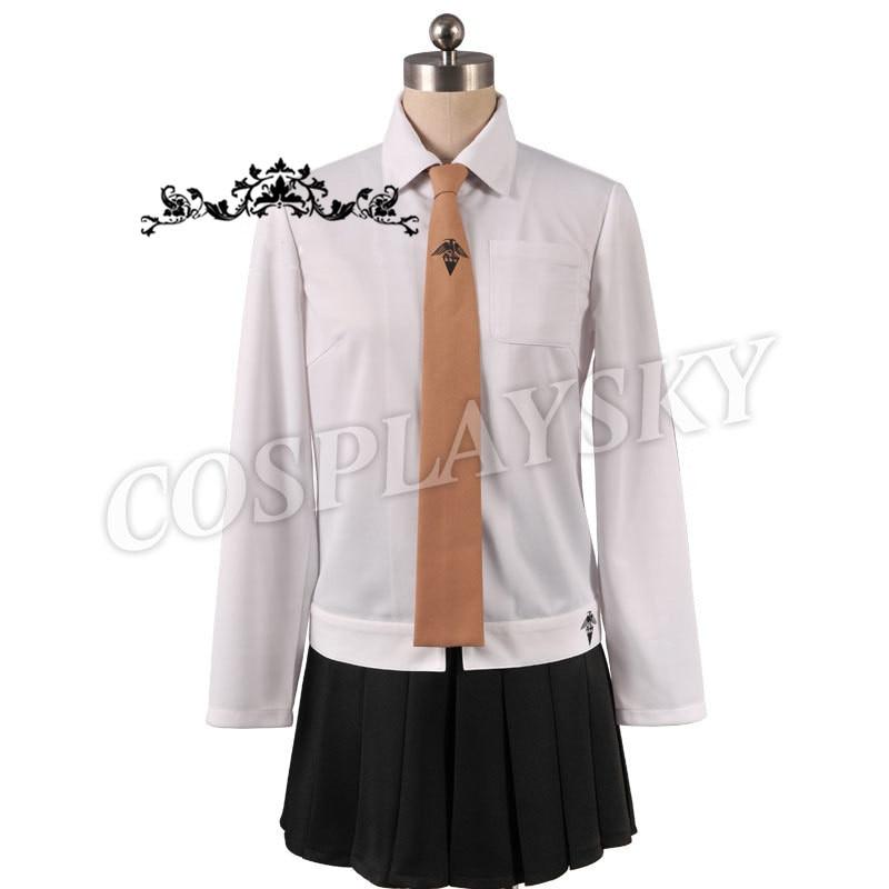 Danganronpa Dangan-Ronpa Kyoko Kirigiri Cosplay Costume Dress Set With Gloves